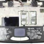 Pohled pod klávesnici - Sony Vaio PCG-QR10
