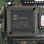 Procesor Harris 286 na 25MHz - PC VUJO 286 na 25MHz