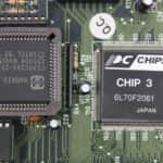Procesor a Chipset - PC VUJO 286 na 25MHz