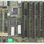 Základní deska PC Chips M216 - PC VUJO 286 na 25MHz