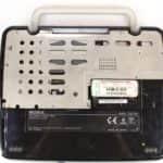 Zespodu a bez plastových krytek - Sony Vaio PCG-QR10