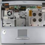 Odmontovaná klávesnice - Fujitsu Siemens Lifebook E-6634