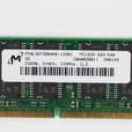 Paměť RAM SO-DIMM z - Fujitsu Siemens Lifebook E-6634