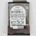 Pevný disk z vrchu - Fujitsu Siemens Lifebook E-6634