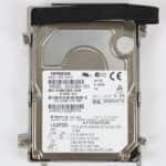 Pevný disk z vrchu - Hewlett Packard OmniBook XE3