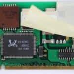 Síťovka a modem - Fujitsu Siemens Lifebook E-6634
