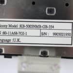 Štítek s modelem klávesnice - Notebook 1400