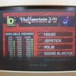Olivetti M290-20 a začátek hry Wolfenstein 3D