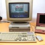 Výkon Olivetti M290-20 ve hře Wolfenstein 3D