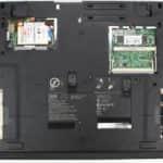 Zespodu a bez krytek - IBM ThinkPad 390X (LCD 15)