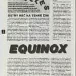 34- Jak dál v Damocles a Equinox