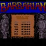 Barbarian - Amiga 500 - 2