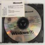 CD + nápelka na disketu - Windows 95 - OEM