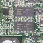Druhá část integrované paměti RAM - Compaq Armada M700