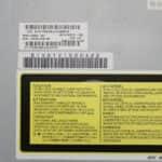 Druhý štítek na DVD - Compaq Armada M700