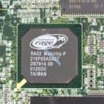 Grafický čip - Compaq Armada M700
