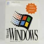 Krabice zepředu - Windows 3.1