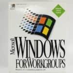 Krabice zepředu - Windows 3.11