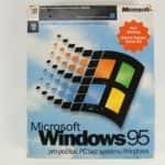 Krabice zepředu - Windows 95 - Disketová verze