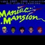 Maniac Mansion - Atari Mega 1 - 1