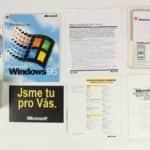 Obsah balení - Windows 95 - Disketová verze