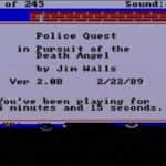 Police Quest – In Pursuit of the Death Angel - Amiga 500 - 11