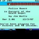 Police Quest – In Pursuit of the Death Angel - Atari Mega 1 - 09