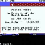 Police Quest – In Pursuit of the Death Angel - Spacestation PC - 10