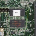 První část integrované paměti RAM - Compaq Armada M700