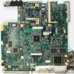 Základní deska z vrchu bez chladiče pro CPU - Toshiba Satellite Pro 440CDT