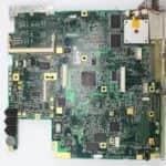 Základní deska z vrchu z - Toshiba Satellite Pro 440CDT