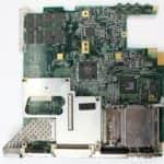 Základní deska zespodu z - Toshiba Satellite Pro 440CDT