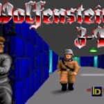 Úvodní obrázek hry - Wolfeinstein 3D