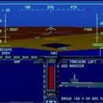F-19 Stealth Fighter - Atari Mega 1 - 10