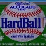 Hardball - Amiga 600 - 1