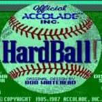 Hardball - Atari Mega 1 - 1