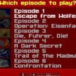 Počet epizod - Wolfeinstein 3D