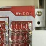 RAM Disk 512KB nápis - Sharp MZ-800