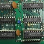 Rozšíření video paměti v paticích - Sharp MZ-800