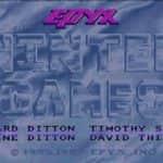 Winter Games - Amiga 600 - 01