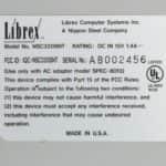 Štítek - Librex 386SX