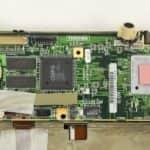 Cášst základní desky z vrchu - Toshiba T4900CT