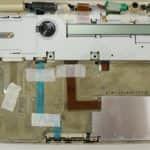 Odmontovaná klávesnice a vrchní kryt - Toshiba T4900CT