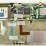 Odstraněn plech ze základní desky - Toshiba T4900CT