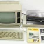 Vypnutá sestava +manuál a diskety - Amstrad PWC8512