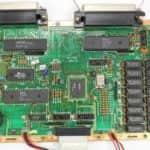 Základní deska z vrchu - Amstrad PWC8512