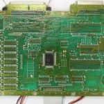 Základní deska zespodu - Amstrad PWC8512