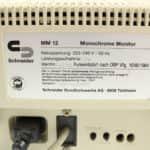 Štítek na monitoru - Schneider EURO PC II