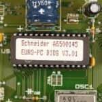 BIOS - Schneider EURO PC II
