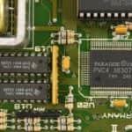 Grafický čip + její paměť - Schneider EURO PC II
